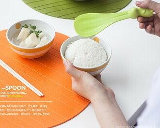 韓國可愛兔子直立式飯勺 不粘電飯煲盛飯勺子料理飯鏟子 兔子飯勺 飯匙