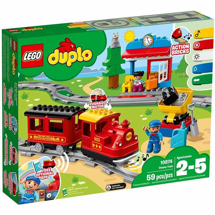 樂高LEGO 10874  Duplo 得寶系列 - 蒸汽列車 - 限時優惠好康折扣