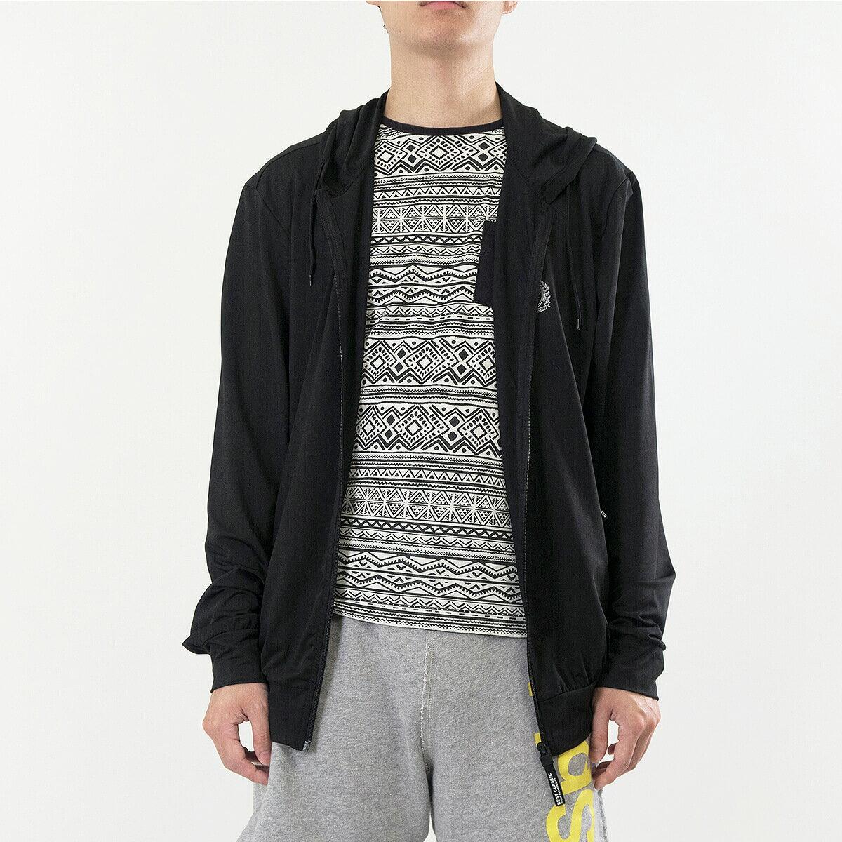 加大尺碼防曬外套 防風遮陽薄外套 柔軟輕薄休閒外套 連帽外套 運動外套 黑色外套 Sun Protection Jackets Mens Jackets Casual Jackets (321-0516_0517-21)黑色、(321-0516_0517-22)紋理灰 3L 4L 5L 6L (胸圍122~140公分  48~55英吋) 男 [實體店面保障] sun-e 5