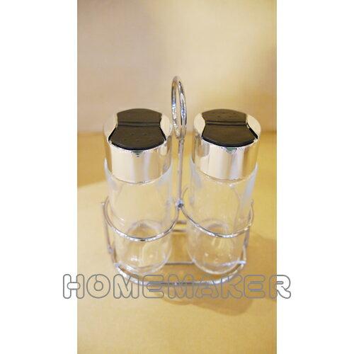 玻璃調味罐  90ml  2入_G~13HM029