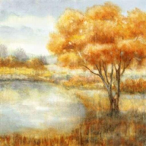 Golden Landscapes Rolled Canvas Art - Nan (12 x 12) 733b147e9b2ddaebaac6438434a2b4b2