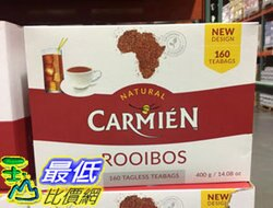 [COSCO代購] C604255 CARMIEN ROOIBOS TES 南非博士茶 2.5公克X160包