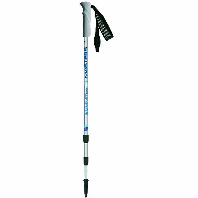 【露營趣】中和 義大利 MASTERS MA01S1711 Summitlight Silver 輕量銀鋁合金登山杖