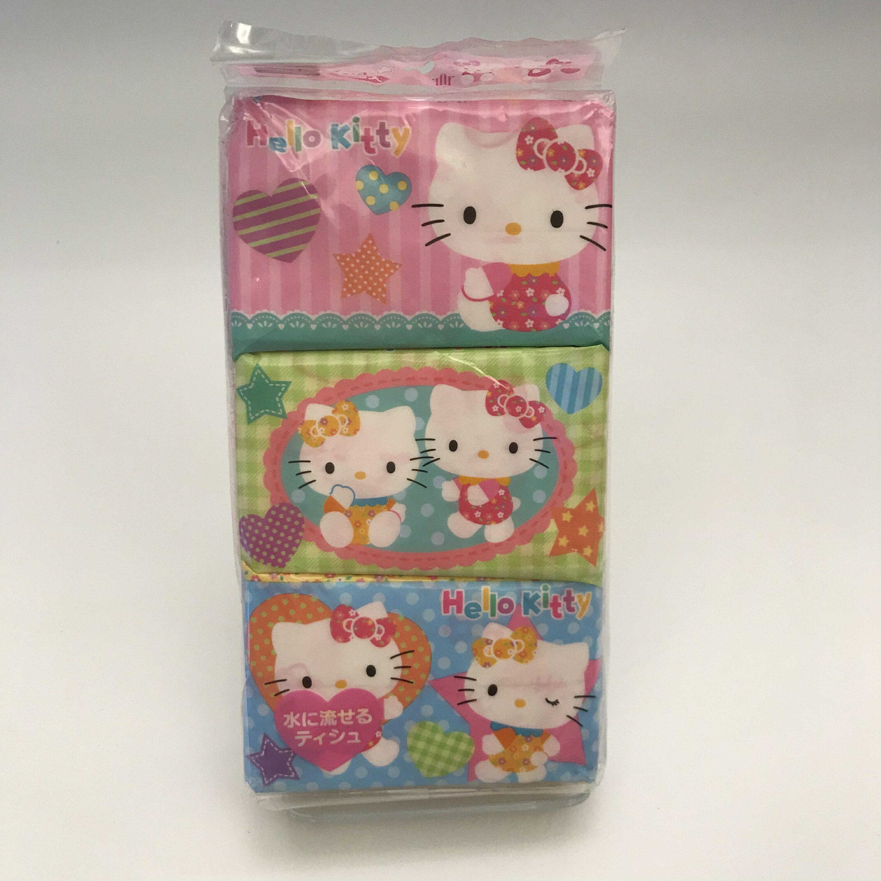 Hello Kitty6包入面紙
