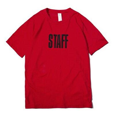 短袖T恤休閒上衣-文字印花圓領純色男裝3色73qx60【獨家進口】【米蘭精品】 0