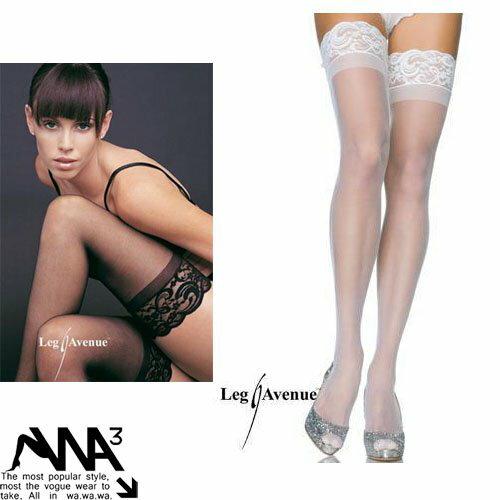 蕾絲邊 透明長筒襪 性感絲襪 大腿襪 多色 8095 大特價現貨下標區