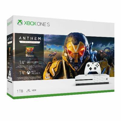 Microsoft XBOX ONE S 1TB《冒險聖歌》Anthem同捆組