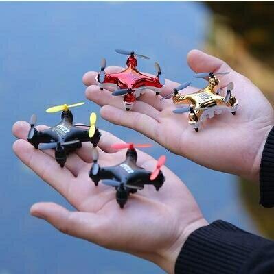 手錶無人機 迷妳小型黑科技手錶無人機專業高清航拍四軸遙控飛機玩具飛行器免運 時尚學院