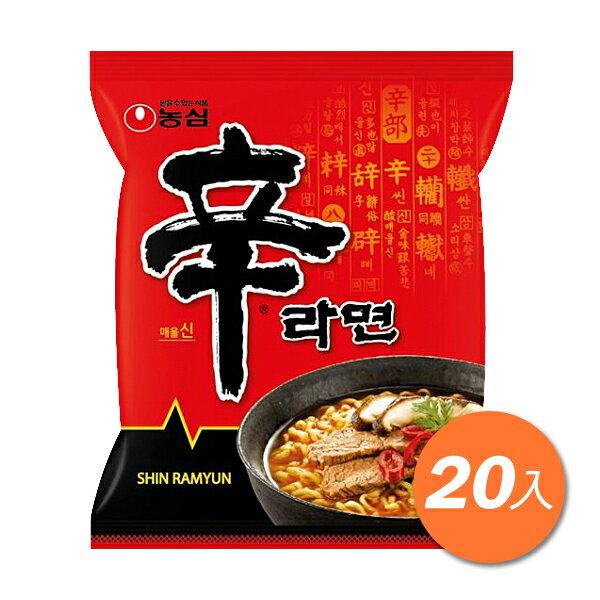 農心辛拉麵20包