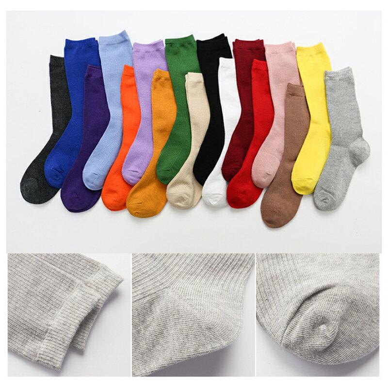 台灣現貨 堆堆襪 日系 長襪 純色 針織襪 韓系 少女襪 百搭 四季 網紅 網美 中筒襪 復古 糖果色 襪子 長筒襪 8