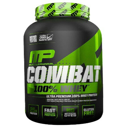 MusclePharm Combat 100% Whey介紹