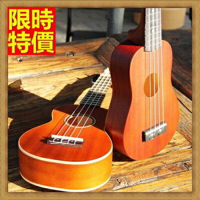 烏克麗麗 ukulele-沙比利木合板21吋四弦琴夏威夷吉他弦樂器2款69x6【獨家進口】【米蘭精品】
