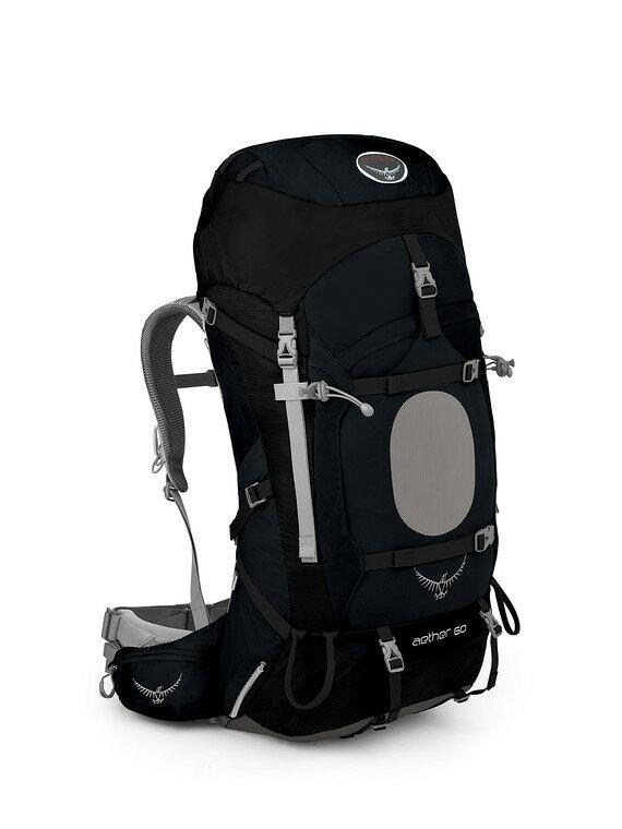 【露營趣】中和 附頭燈手電筒 美國 Osprey Aether 60公升 登山背包 重裝背包 自助旅遊背包