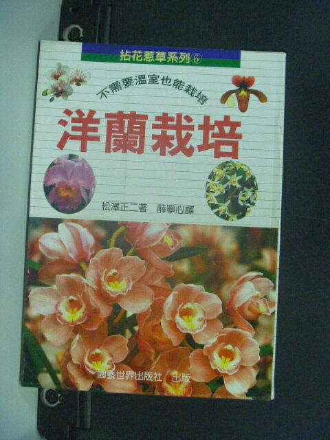 【書寶二手書T9/園藝_NJZ】拈花惹草系列(6)洋蘭栽培_松澤正二