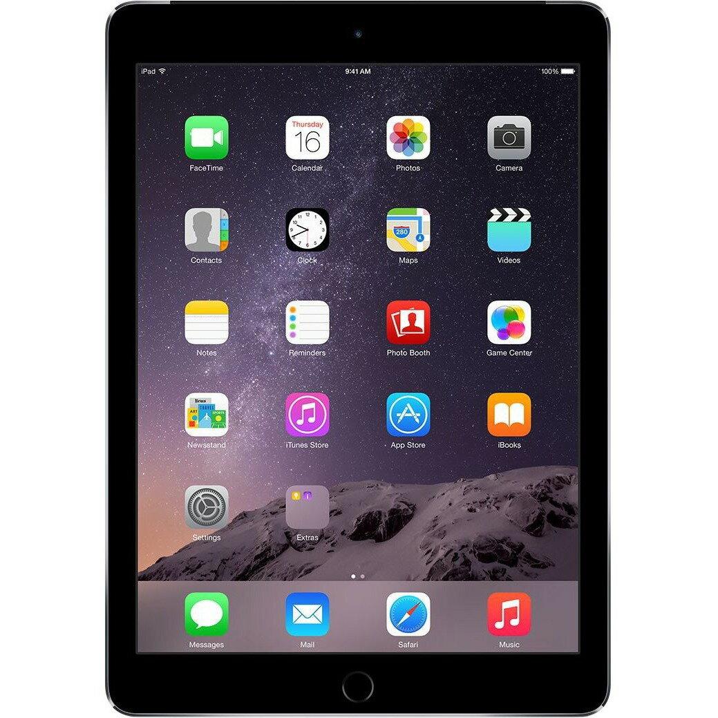 """Apple iPad Air 2 16GB 9.7"""" Retina Display Wi-Fi Tablet - Gray - MGL12LL/A 1"""