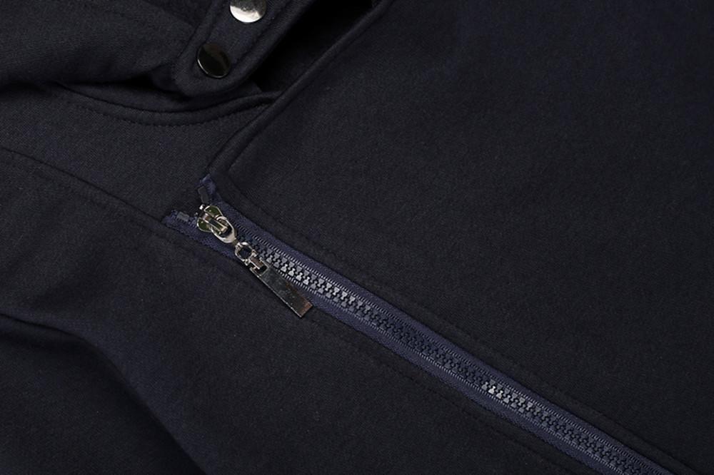 Women Casual Slim Fit Zip-up Hoodie Jacket 2