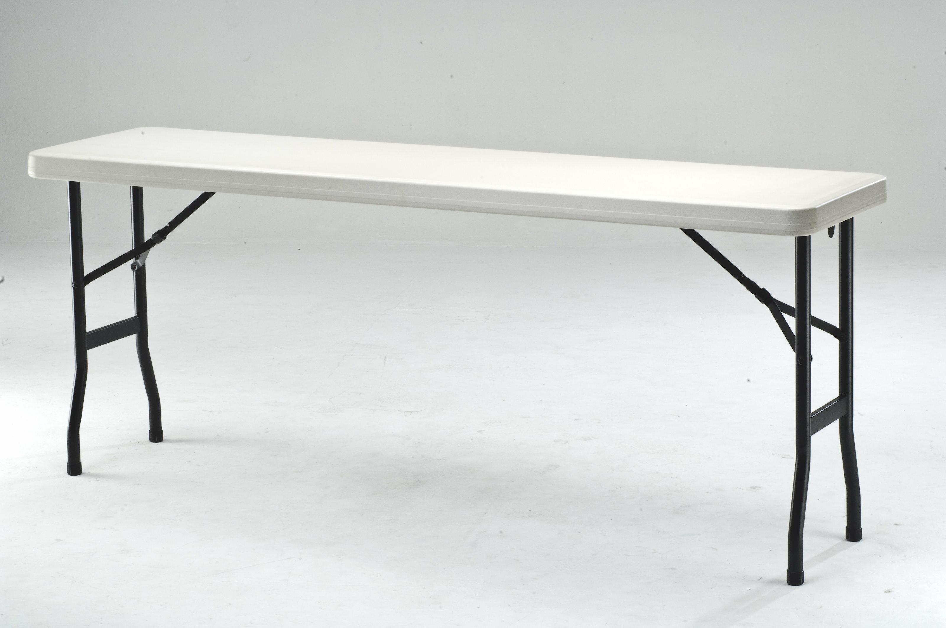 【MK1860】152X45公分超實用環保折疊收納桌/補習班/辦公室工作桌/教學用桌/佛堂用桌/展覽桌/戶外活動桌★★♪♪外銷優質收納桌♪♪
