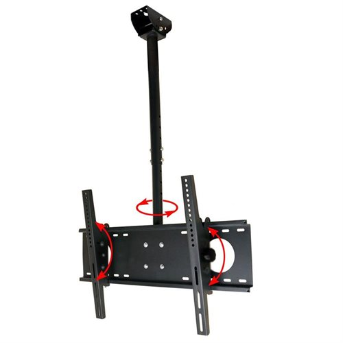 VideoSecu Vaulting or Flat TV Ceiling Mount for VIZIO 40-65 inch LCD LED Plasma Flat Panel Screen HDTV 1S5