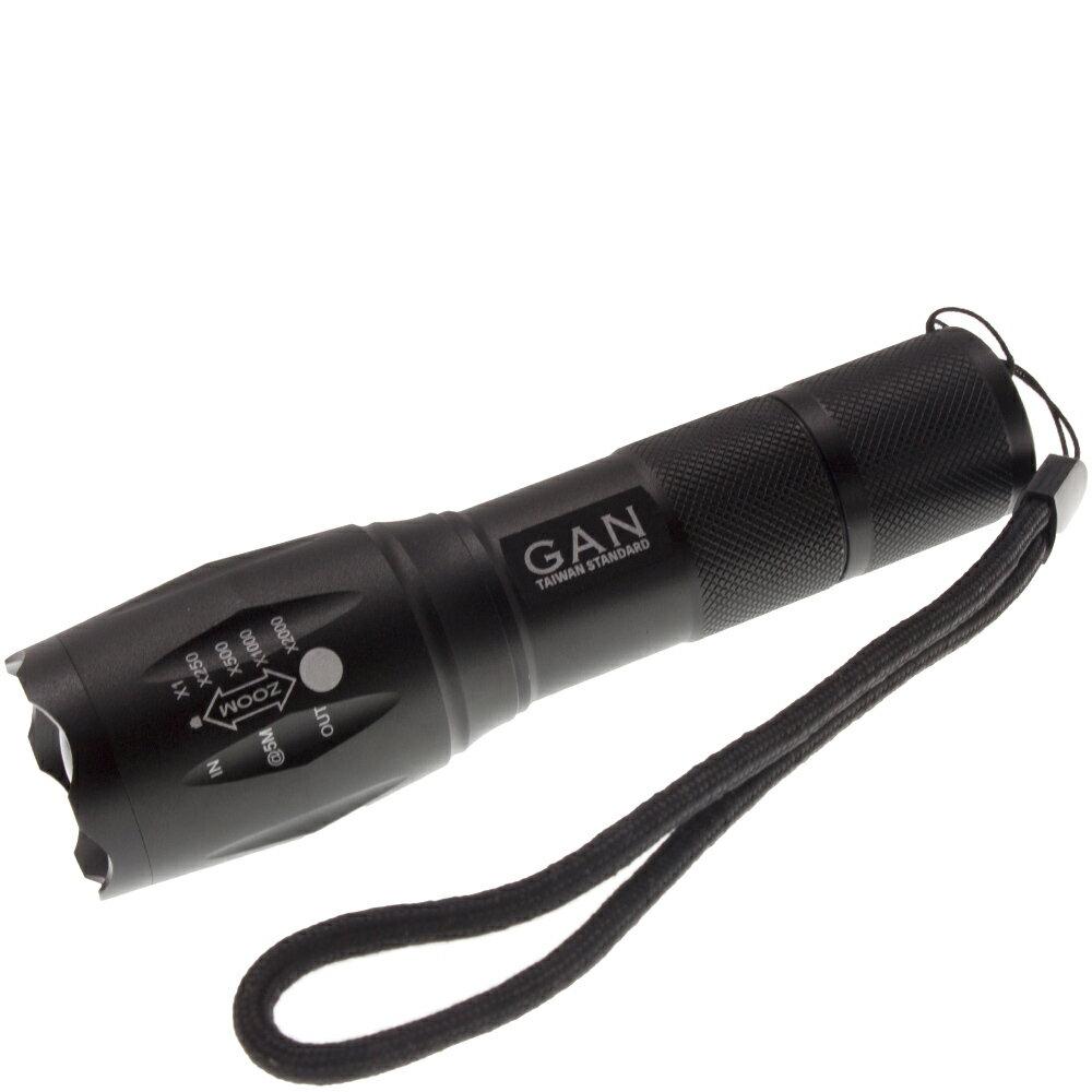 【03/30狂降特賣】 激光最強光害型 LED手電筒 爆量款 手電筒 伸縮變焦調光 強光手電筒 GAN超越T6 地震颱風