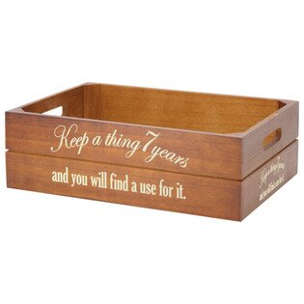 木製收納盒PROVER半格型BRNITORI宜得利家居