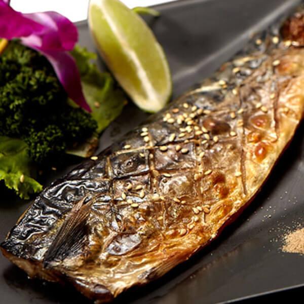 〔M〕真•挪威薄鹽鯖魚片 170g5% / 片