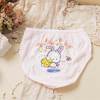 SHIANEY席艾妮 - 編號.708 可愛兔兔 女童褲 三枚組 (台灣製)