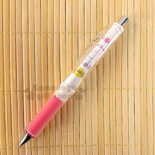 〔小禮堂〕史努比 日製百樂搖搖自動鉛筆《粉白.大臉.狗屋》使用0.5筆芯.Dr.Grip減壓系列