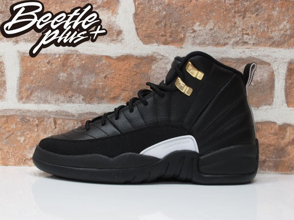 女生 BEETLE AIR JORDAN 12 THE MASTER 喬丹 AJ12 黑白 黑金 153265-013 0