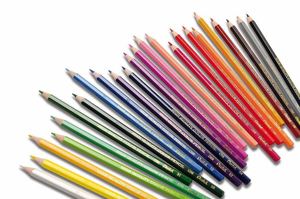 [Pentel] 飛龍CB8-T單色色鉛筆