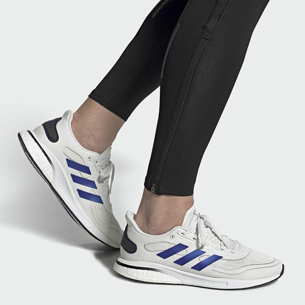 【滿額最高折318】ADIDAS SUPERNOVA 男鞋 慢跑 網布 透氣 Bounce+Boost 中底 避震 白 藍【運動世界】FW0700