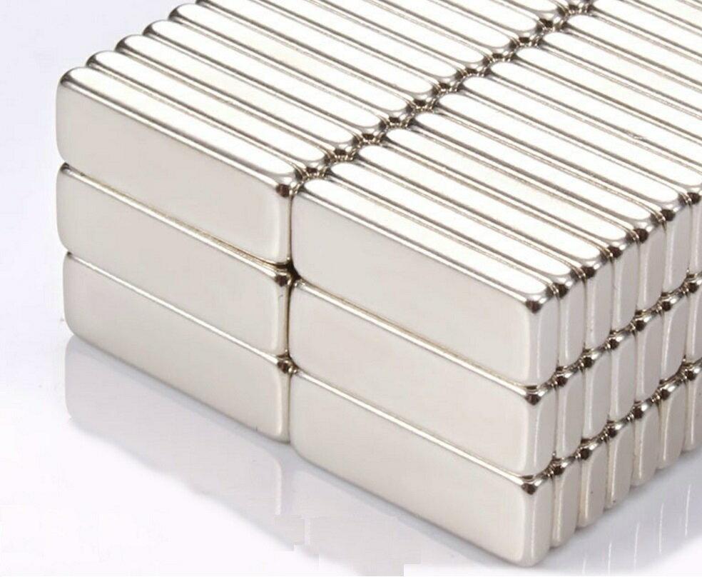 【強力磁鐵長方形無孔】釹鐵硼 磁鐵 磁鉄 磁石 圓柱形 N35