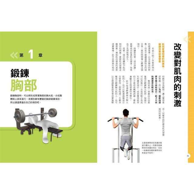 健身新手重訓攻略:槓片啞鈴×阻力帶×健身器材,新手必學的五大重訓,教你正確施力、精準增肌 5