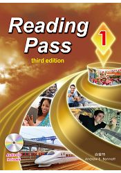 Reading Pass 1 (第三版) (with Audio CD) - 限時優惠好康折扣