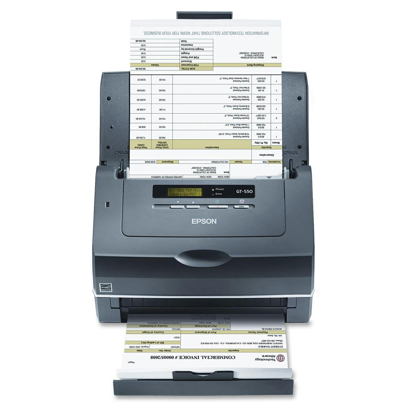 Epson WorkForce Pro GT-S50 Scanner