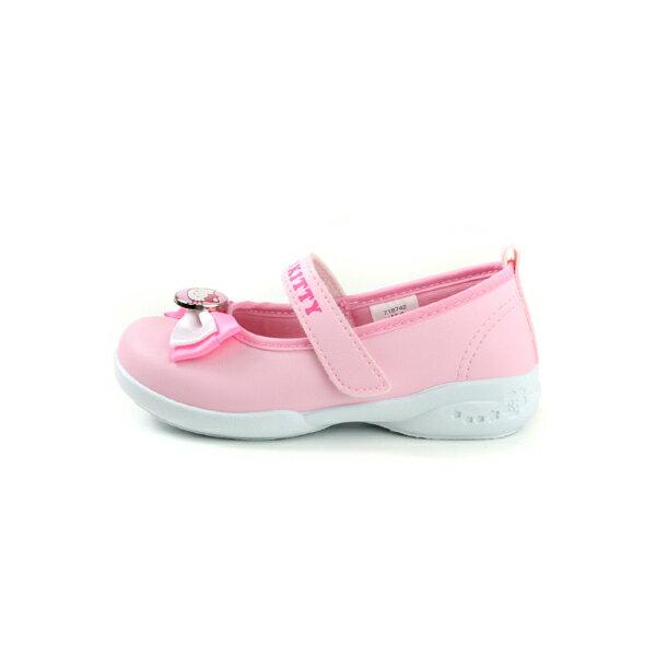 Hello Kitty 凱蒂貓 娃娃鞋 皮質 粉紅色 中童 童鞋 718742 no774 5
