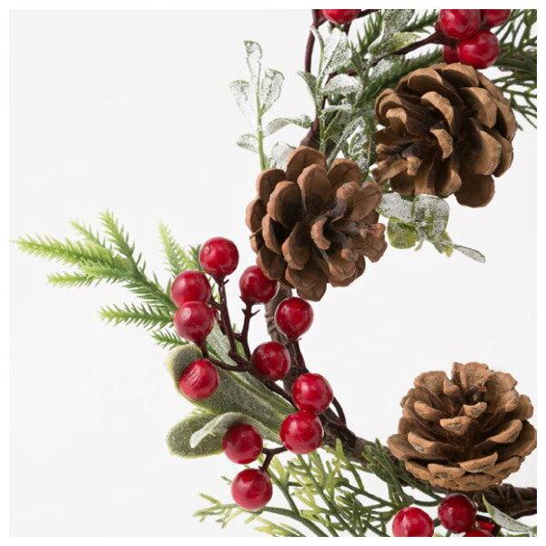 聖誕裝飾花圈 25cm RED RH02-17911 NITORI宜得利家居 1
