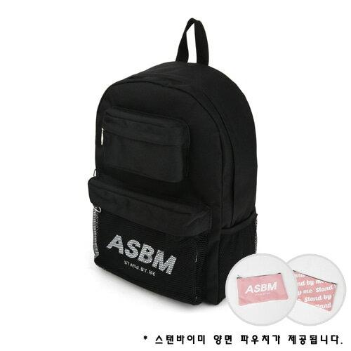 【獨家商品】韓國潮牌 STANd.BY.ME 152 多袋口後背包 書包 電腦包 5