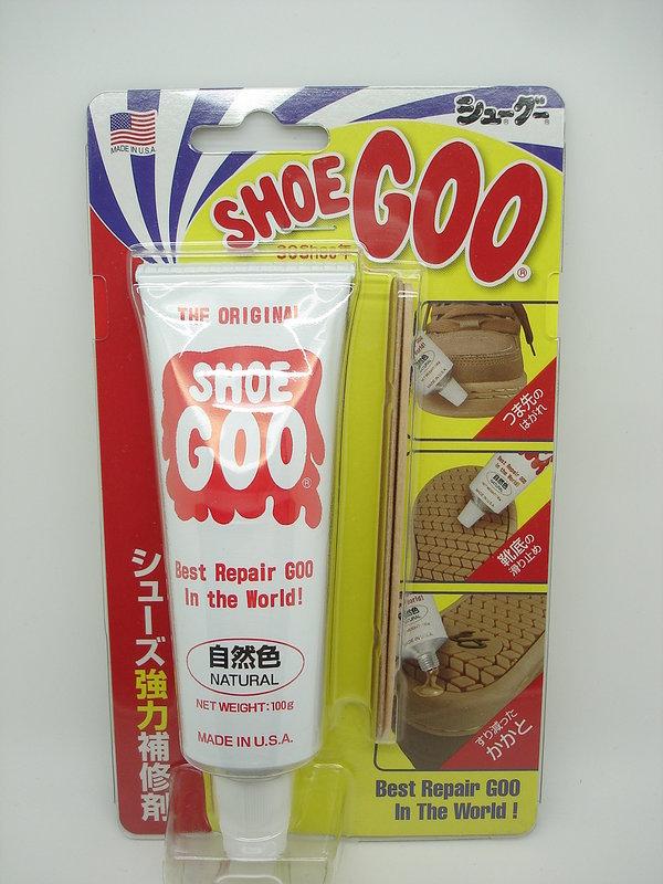 【容量100g】Shoe Goo 鞋固膠 (自然色)