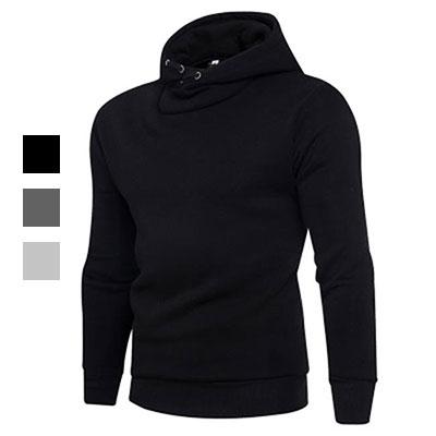 50 OFF SHOP:50%OFFSHOP爆款外貿速賣通亞馬遜套頭純色衛衣(3色)(S-2XL)【AG031432C】