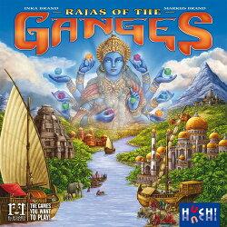 特價 含稅附發票  Rajas of the Ganges 恆河王侯  英文版  恆河羅闍 方舟風雲會益智桌遊  實體店正版