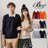 ☆BOY-2☆【PPK86036】情侶上衣 V領素面針織毛衣 0
