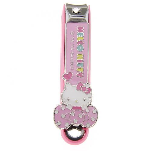 【百倉日本舖】日本製KAI貝印粉紅Kitty指甲刀/指甲剪