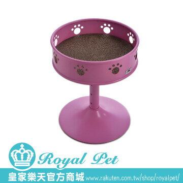 Cosset寵時尚酒杯型高腳睡床-腳丫造型跳台內含抓板(直徑42*+3階式高度:515763c