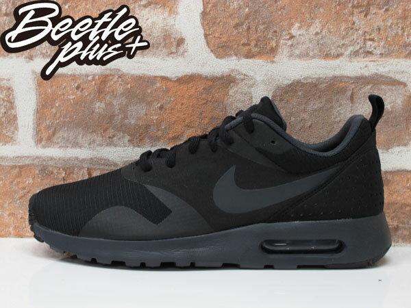 BEETLE NIKE AIR MAX TAVAS 全黑 素面 男鞋 波點 透氣 慢跑鞋 NMD 705149-010