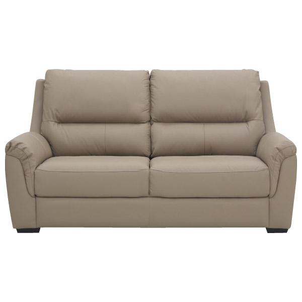 ◎(OUTLET)半皮2人用沙發 BEAZEL MO 福利品 NITORI宜得利家居 1