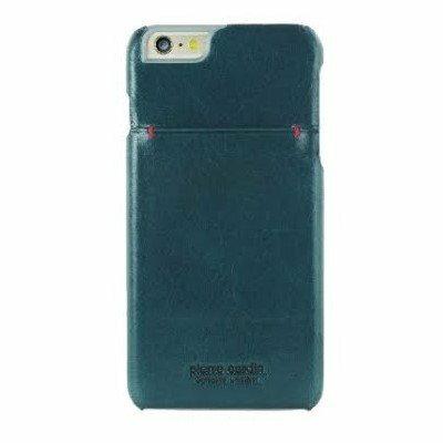 *╯新風尚潮流╭* 皮爾卡登 i Phone 6 6s 真皮手機殼 保護殼 皮套 湖水藍 PCS-P02-IP6-B2