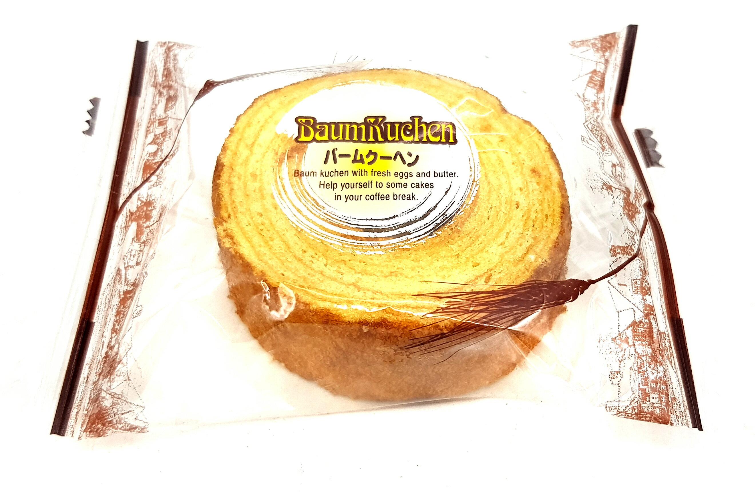 《Chara 微百貨》 日本 牧原 製菓 厚切 牛奶 迷你 年輪 蛋糕 9入 243g 團購 批發 2