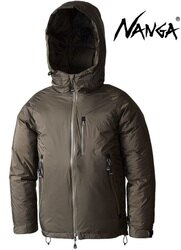 Nanga 防水連帽夾克/羽絨衣/雪衣 Aurora Down Jacket 10415 男款 KHA 卡其 日本製