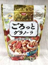 日清大袋草莓麥片500g包