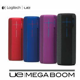 ★限量加贈海灘墊★羅技 Ultimate Ears UE MEGABOOM (4色) NFC 防潑水防撞 無線藍牙喇叭 公司貨 0利率 免運